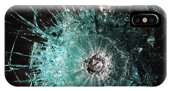 Bulletproof Glass Phone Case by Volker Steger