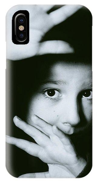 Child Abuse Phone Case by Mauro Fermariello