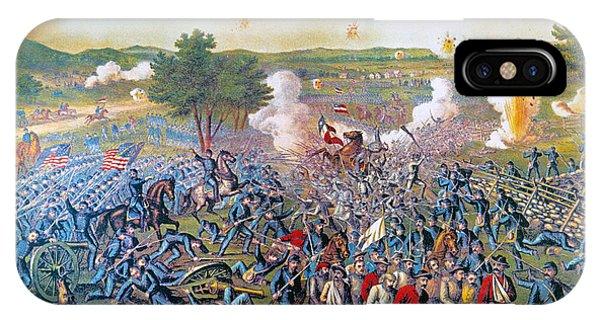 Allison iPhone Case - Civil War: Gettysburg, 1863 by Granger
