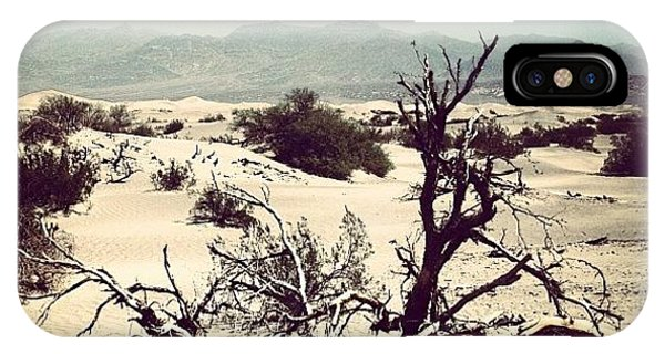 Beautiful Landscape iPhone Case - Death Valley by Luisa Azzolini