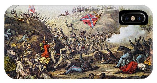 Allison iPhone Case - Fort Pillow Massacre, 1864 by Granger