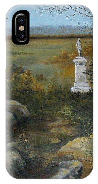Gettysburg Monument IPhone Case