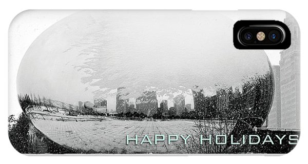 Happy Holidays From Chicago IPhone Case