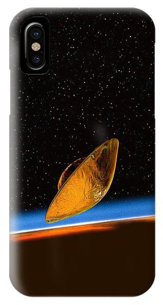 Huygens Probe At Titan, Artwork Phone Case by David Ducros