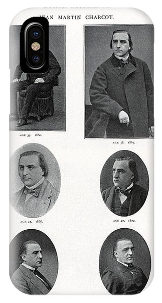 Jean-martin Charcot, French Neurologist Phone Case by Humanities & Social Sciences Librarynew York Public Library