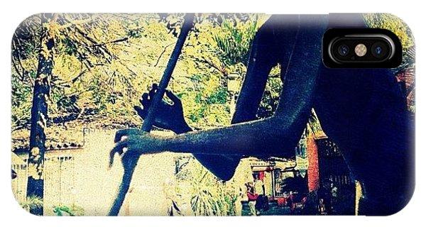 Celebrity iPhone Case - Musician Sculpture (puerto Vallarta) by Natasha Marco