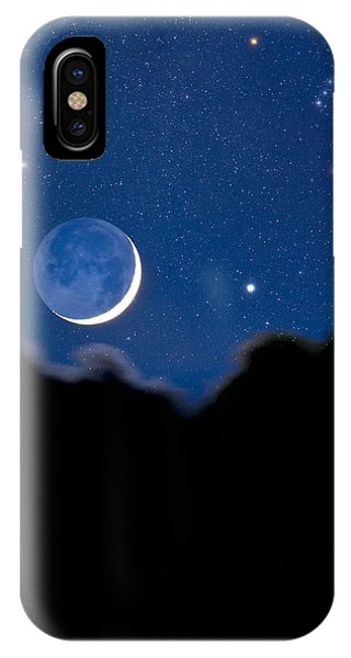 Night Sky Phone Case by David Nunuk