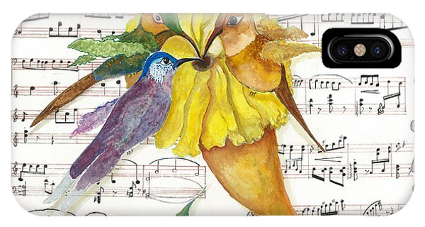 2 Of 2 - Natures Symphony-in Three-part Harmony IPhone Case