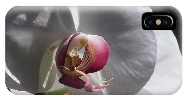 Orchid Macro IPhone Case