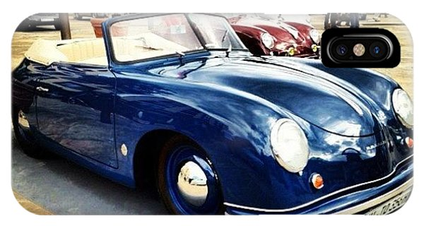 Vintage iPhone Case - Porsche by Luisa Azzolini