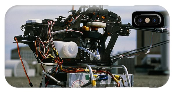 Robotic Helicopter Phone Case by Volker Steger