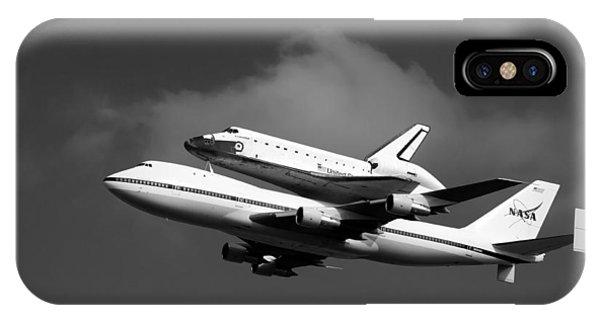 Shuttle Endeavour IPhone Case