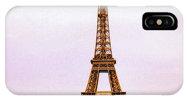 Travel iPhone Case - Tour Eiffel by Luisa Azzolini