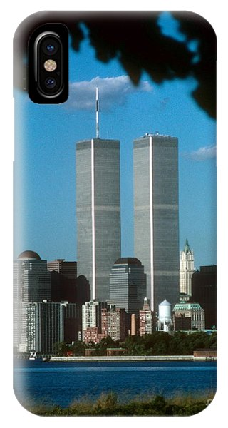 View From Liberty State Park IPhone Case