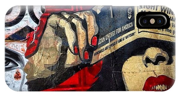 Political iPhone Case - Wynwood - Miami by Joel Lopez