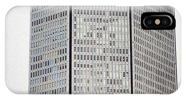 Music iPhone Case - Building by Akira Mizutani