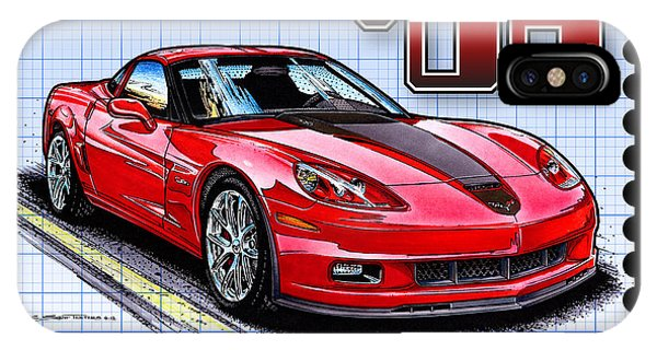 2008 427 Limited Edition Z06 IPhone Case