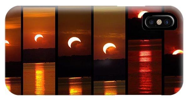 2012 Solar Eclipse IPhone Case