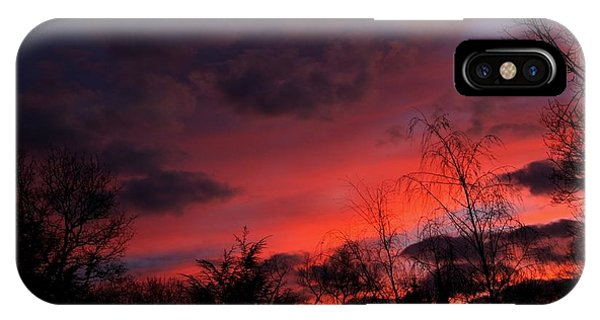 2012 Sunrise In My Back Yard IPhone Case