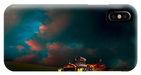23 Model-t Ford Roadster Hot Rod IPhone Case