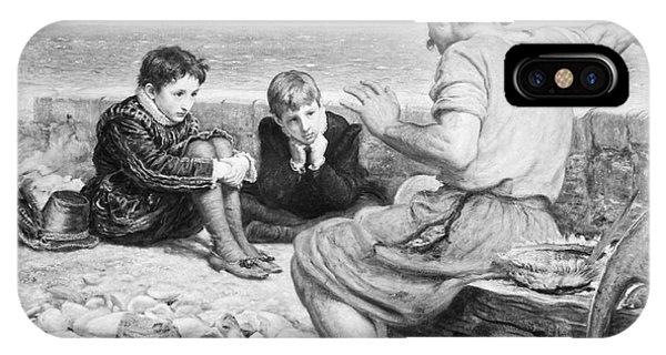 Pre-modern iPhone Case - Sir Walter Raleigh by Granger