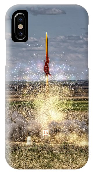 3 2 1 Launch IPhone Case