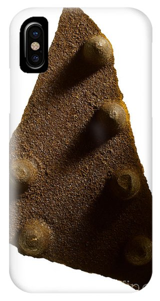 Oxidized iPhone Case - Abstract Steel by Tony Cordoza