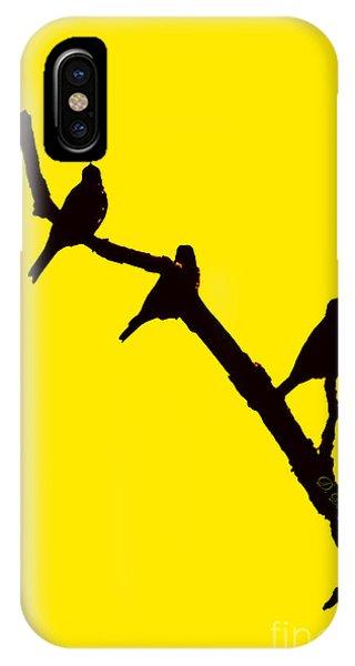 3 Birds On A Limb IPhone Case