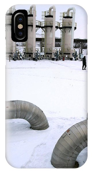 Gas Fuel Compressor Plant Phone Case by Ria Novosti