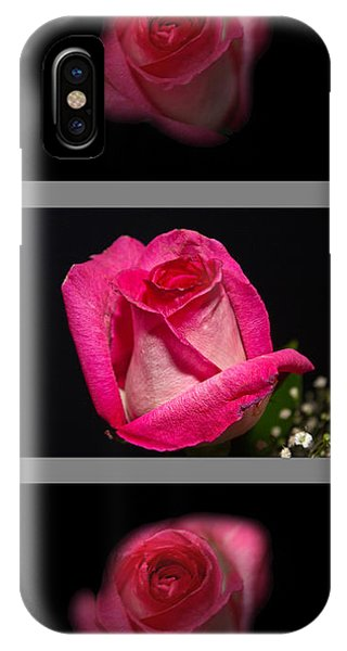 3 Little Roses IPhone Case