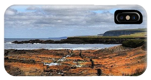 Travel iPhone Case - Orkney's Landscape by Luisa Azzolini