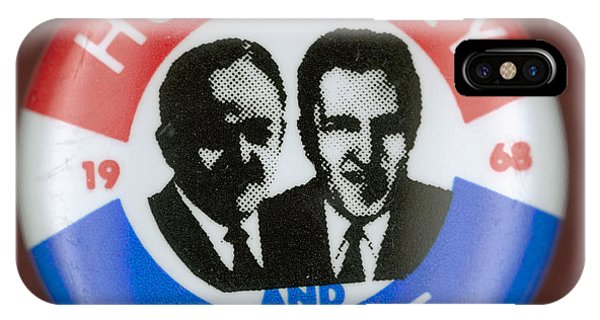 Presidential Campaign, 1968 IPhone Case