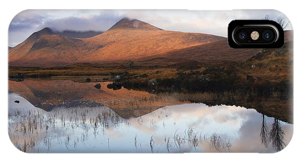 Rannoch Moor At Sunrise IPhone Case