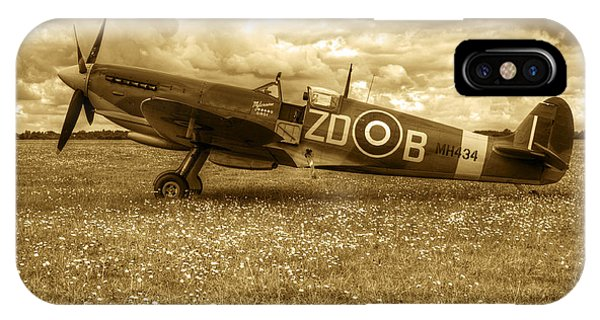 iPhone Case - Spitfire Mk Ixb by Chris Day