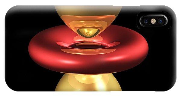 3dz2 Electron Orbital IPhone Case