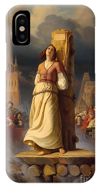 1431 iPhone Case - Joan Of Arc, French National Heroine by Photo Researchers