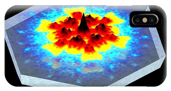 Quantum Waves In Topological Insulators Phone Case by Dr A. Yazdani