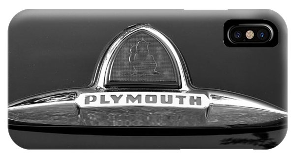 49 Plymouth Emblem IPhone Case