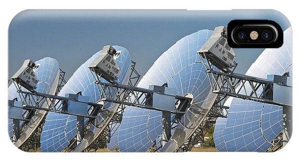 Concentrating Solar Power Plant Phone Case by David Nunuk