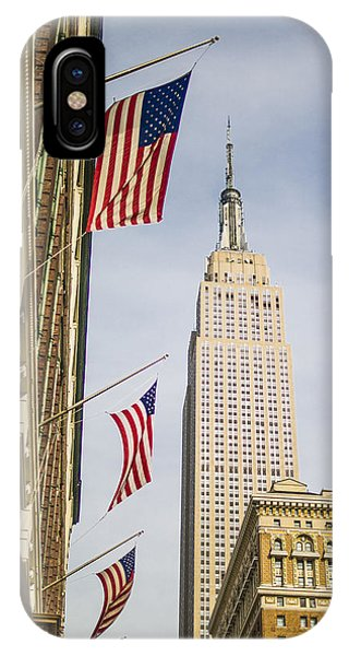 IPhone Case featuring the photograph Empire State Building by Theodore Jones