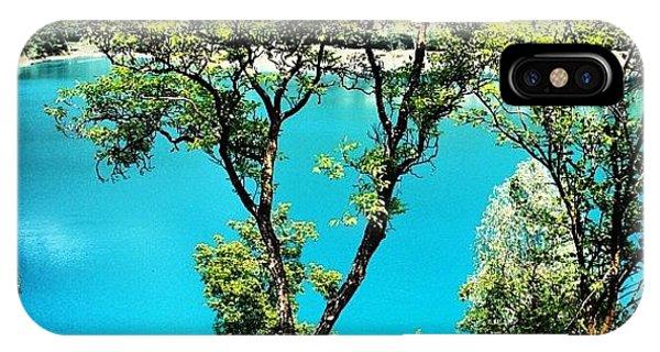 Beautiful Landscape iPhone Case - Lake Of Tenno by Luisa Azzolini
