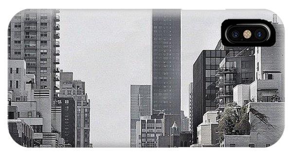 Manhattan - New York IPhone Case