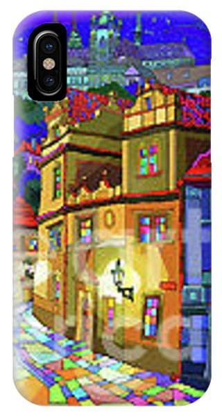 iPhone Case - Prague Old Street by Yuriy Shevchuk