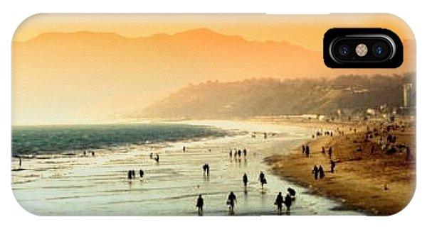 Amazing iPhone Case - Santa Monica Beach by Luisa Azzolini