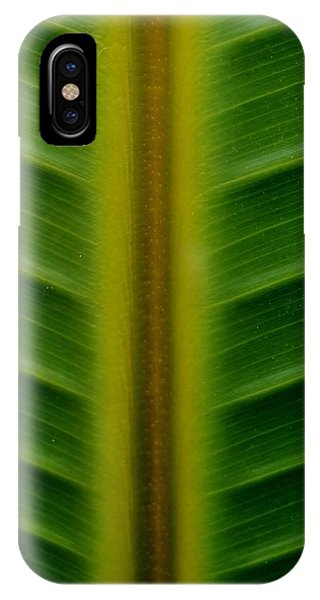 Wild Banana Leaf IPhone Case