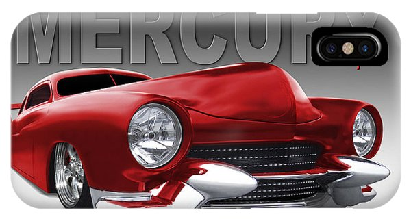 Coupe iPhone Case - 50 Mercury Lowrider by Mike McGlothlen