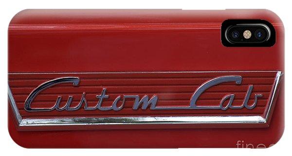 56 Ford F100 Custom Cab IPhone Case