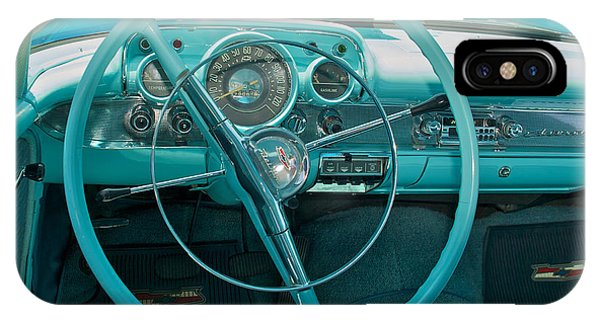 57 Chevy Bel Air Interior 2 IPhone Case