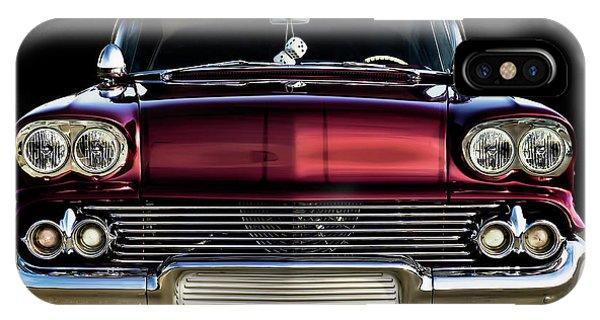 Chrome iPhone Case - '58 Impala Custom by Douglas Pittman