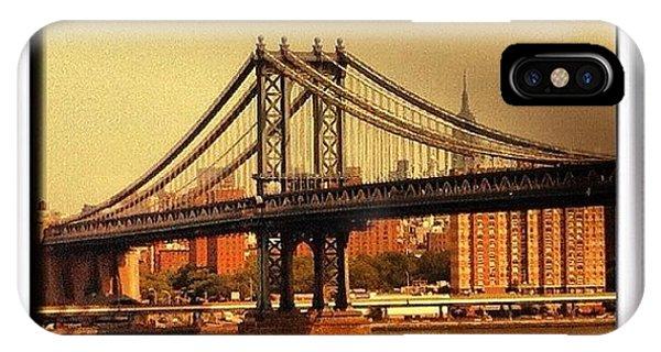 City Scape iPhone Case - Instagram Photo by Noah Jacob